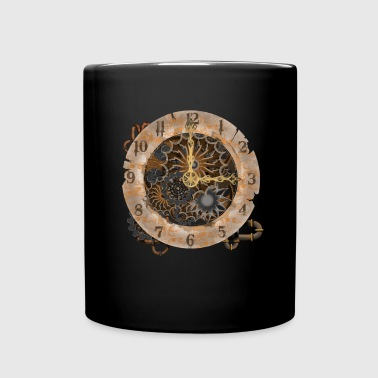 steampunk watch - Enfärgad mugg