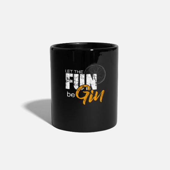 Liquor Mugs & Drinkware - Alcohol liquor gift idea - Mug black