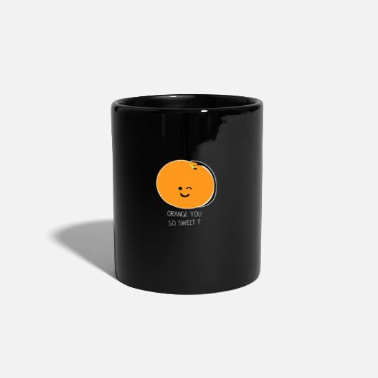 Enviromental Mugs & Drinkware - Fruit Fruity gift idea - Mug black