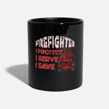 Wisdom Firefighter saying - Full Colour Mug