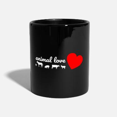 Animal Love love of animals - Mug