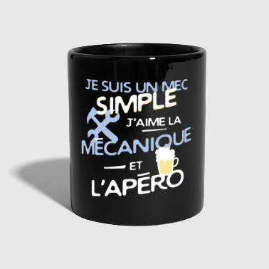 Mécanique - un mec simple - Mug uni
