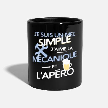 Mécanicien Mécanique - un mec simple - Mug