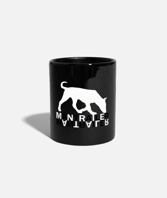 Mantrailing Mugs & Drinkware - Mantrailer dog dogs - Mug black