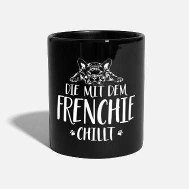 Rashond THE FRENCHIE CHILLT Wilsign's hondenpraat - Mok