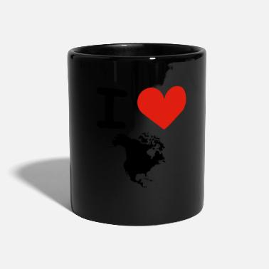 Hodetelefoner I love North America - Mug