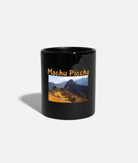 Trekking Mugs & Drinkware - Peru Machu Picchu Sunrise - Mug black