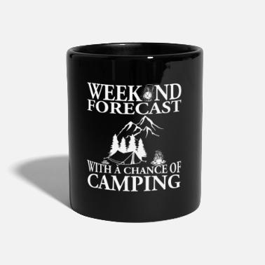Mountain Climbing Weather perfect for camping travel gift - Full Colour Mug