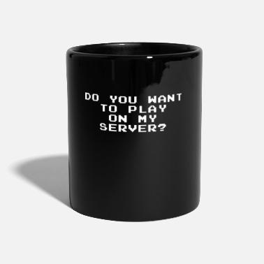 Server Message server game - Mug