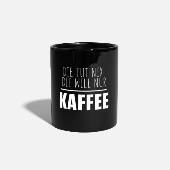 Coffee Bean Mugs & Drinkware - They do not want coffee only - Mug black