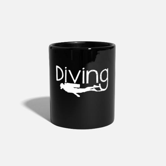 Reef Mugs & Drinkware - DIVING diving gift idea - Mug black