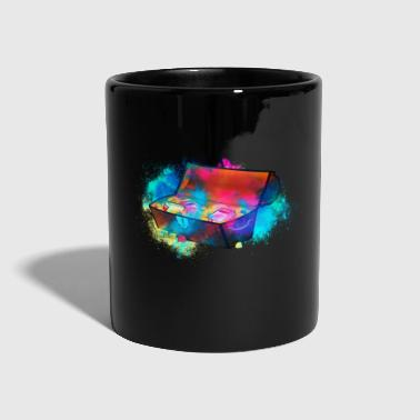 Treasure treasure chest colorful - Full Colour Mug
