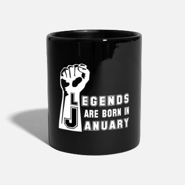 Birthday Birthday Birthday Legend Legends - Tazza monocolore