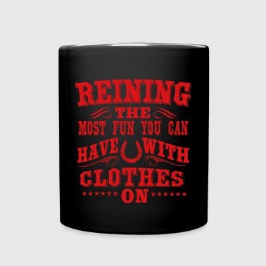 Reining - fun - Full Colour Mug