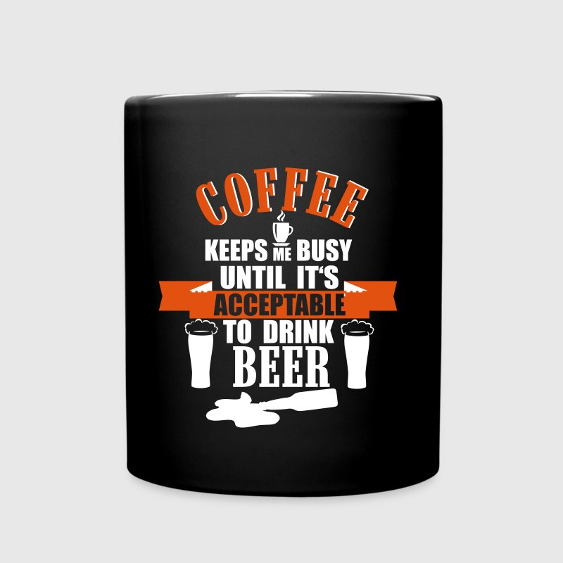 Coffee and Beer - Enfärgad mugg