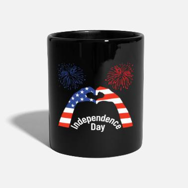 Independence Day Independence Day, USA Independence Day - Full Colour Mug