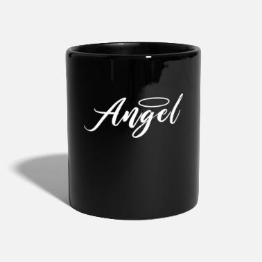 Los Angeles Angel Angel Angel diseño - Taza de un color