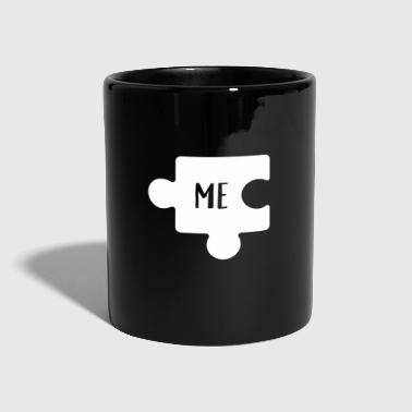 You & Me Puzzle (Part 1) - Tasse einfarbig