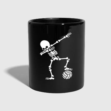 Dab dabbing skeleton (beach) volleyball - Tazza monocolore