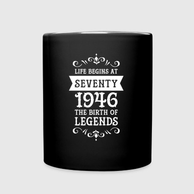 Life Begins At Seventy - 1946 The Birth Of Legends - Kubek jednokolorowy