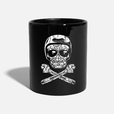 Costume Homme Day of the Dead Mechanic Sugar Skull cadeau pour homme - Mug