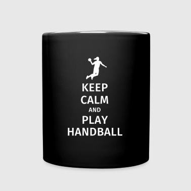 keep calm and play handball - Mok uni