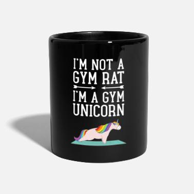 Nice I'm Not A Gym Rat - I'm A Gym Unicorn - Mug