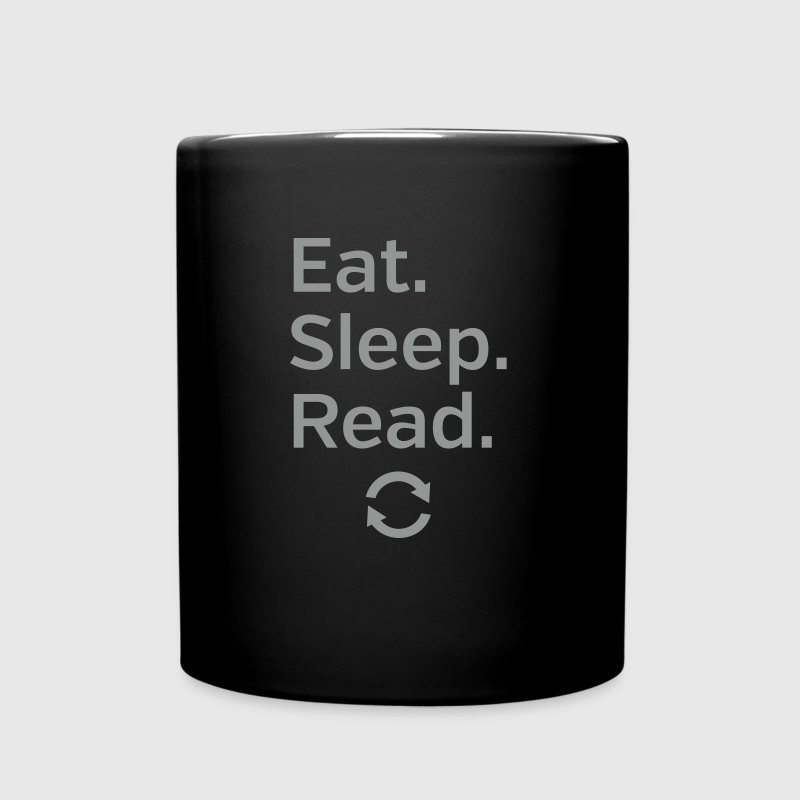 Eat - Sleep - Read - Repeat - Full Colour Mug
