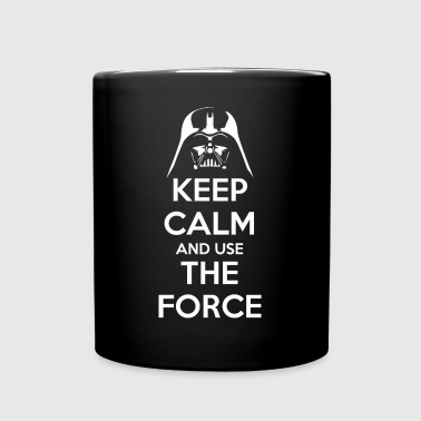 Use the Force - Tasse einfarbig