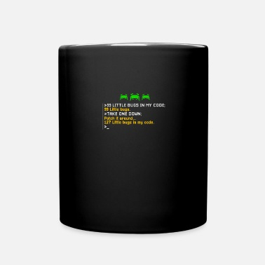 Bug Programmer 99 Little Bugs Programming - Tasse