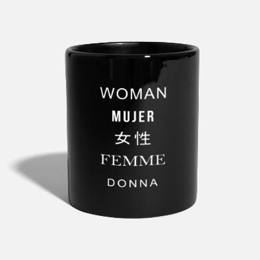Donna Woman Mujer Femme Donna Quote - Full Colour Mug