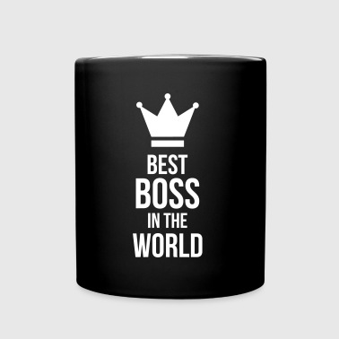 Best Boss in the World - Enfärgad mugg