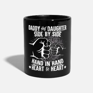 Daddy Daddy and daughter heart to heart - Mug