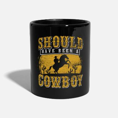 Country cowboy - Tazza monocolore
