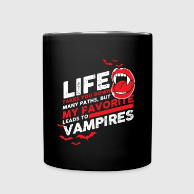vampiro - Taza de un color