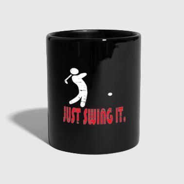 Golf Golf Gift Golf Golf Course Golf Golf Zapatos de golf - Taza de un color