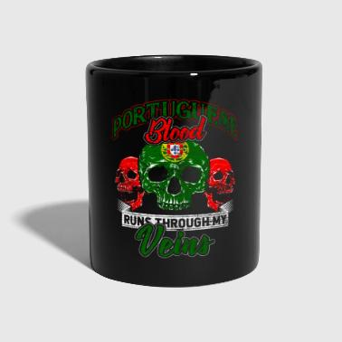 Portugal Lisbon Porto Portuguese beach blood - Full Colour Mug