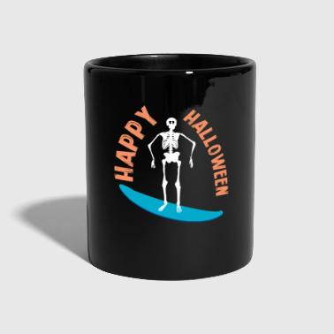 Surfing Skeleton - Full Colour Mug