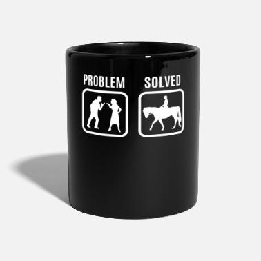 Litigio Regalo di cavallo - Tazza monocolore