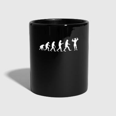 Fisicoculturismo Evolution Gym Fitness Funny - Taza de un color