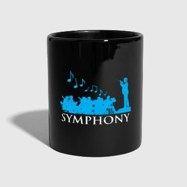Symphony orchestra gift Christmas - Full Colour Mug