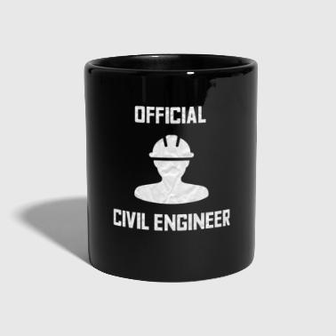 Official civil engineer - Full Colour Mug