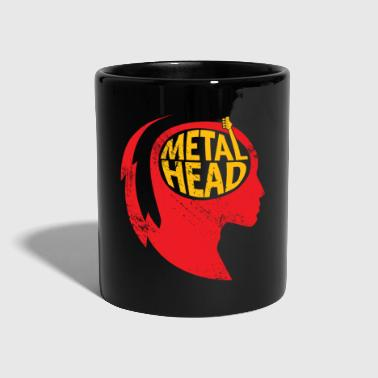 Metal Head Gift Christmas Music Rock - Kubek jednokolorowy