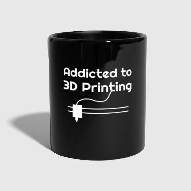 3d Stampa 3D - Stampa 3D - Addicted - Tazza monocolore