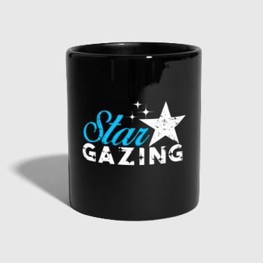 Star peeking gift Christmas kids - Tazza monocolore
