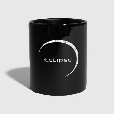Eclipse moon eclipse sun gift - Full Colour Mug