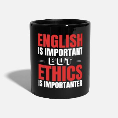 Ethics Ethics Religion Gift Idea - Mug