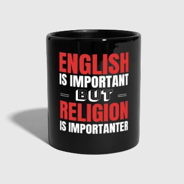Theology Religion Teacher Teacher Gift Idea - Full Colour Mug