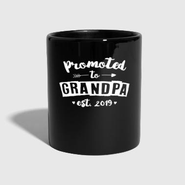 Opa Großvater 2019 - Promoted To Grandpa - Tasse einfarbig