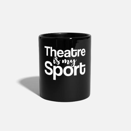 Actor Mugs & Drinkware - theatre - Mug black
